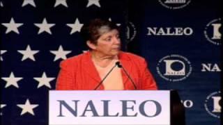 Secretary of Homeland Security Janet Napolitano at NALEO