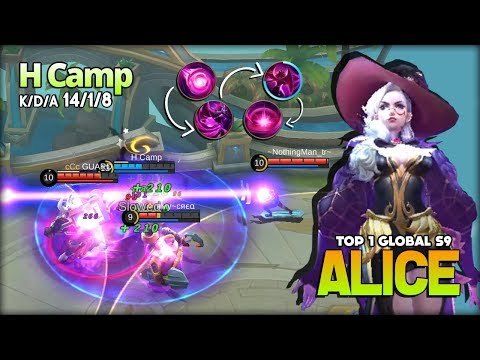 Xxx Mp4 Perfect Mid Lane Insane Skill Control Alice By H Camp Top 1 Global Alice S9 Mobile Legends 3gp Sex