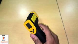 [Hindi] SEAMAC LCD Digital Temperature Gun Non-Contact IR Laser Thermometer DT-380