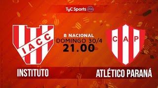 Primera B Nacional: Instituto vs. Atlético Paraná | #BNacionalenTyC