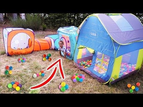 Xxx Mp4 Ma Cabane Pliable Parcours De Jeux Bains De Boules Outdoor Playground For Kids 3gp Sex