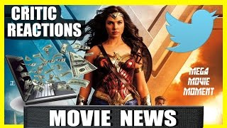 Critic Early Reactions for Wonder Woman | Mega Movie Moment