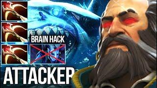 !Attacker Back to Kunkka - Insane Torrent Combo Brain Hack - Dota 2