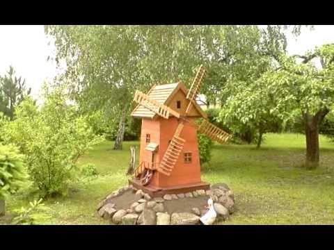 wiatrak ogrodowy