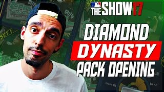 HUNTING FOR DIAMONDS IN DIAMOND DYNASTY! MLB 17 The Show Pack Opening