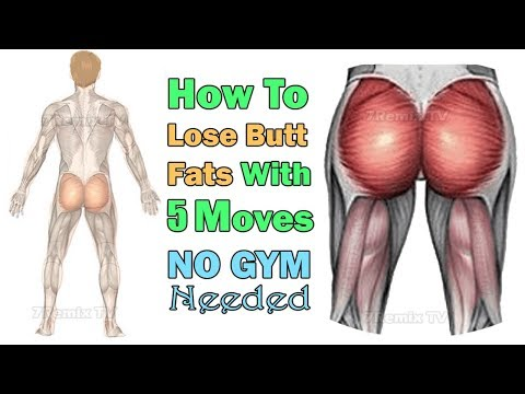 Xxx Mp4 How To Lose Butt Fat For Men Easily With 5 Best Moves Anywhere NO GYM Needed 3gp Sex