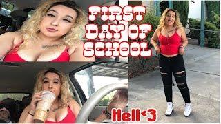 FIRST DAY OF HIGH SCHOOL | SENIOR YEAR 2018
