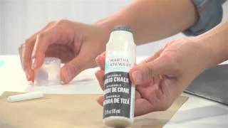 How To Create Chalkboard Art With Martha Stewart Crafts® Chalkboard Paint