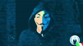 Anonymous Italia - Operation Paris Continua #OpParis