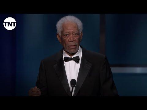Morgan Freeman Roasts Denzel Washington AFI 2019 TNT