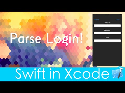 Parse Login! (Swift in Xcode)