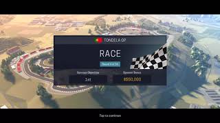 Motorsport Manager Mobile 2 - World Motorsport Championship | Tondela GP