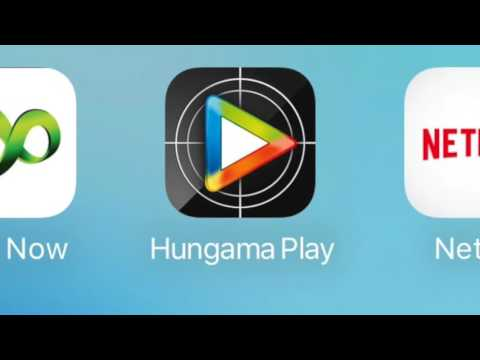 Erosnow Vs Hungama Vs Netflix Vs hotstar (App comparison - 2016)