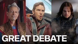 What Is The Best Marvel Film? | THE GREAT DEBATE