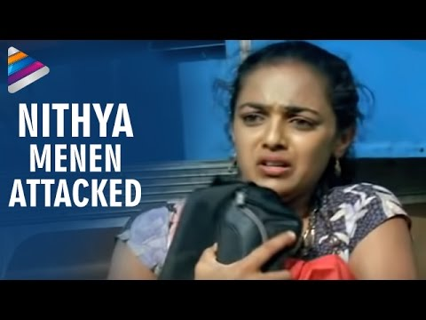 Nitya Menon Attacked by Goons | Nithya Movie Scenes | Revathi | Shweta Menon