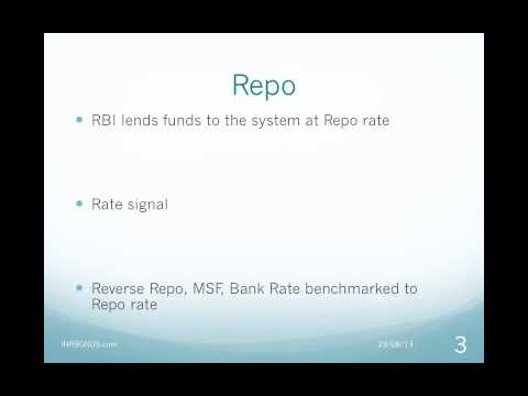 Video Tutorial on RBI Tools for Interest Rate and Exchange Rate Management
