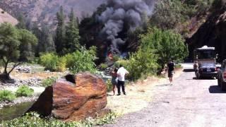 Beginning of the Motor Fire, Yosemite