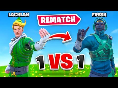 I Rematched Fresh in a Fortnite 1v1 Pro Player