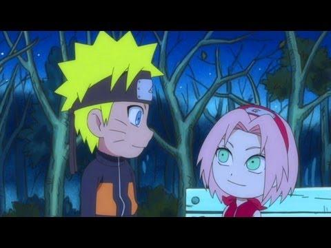 Naruto SD Funny Naruto & Sakura AMV Bubble Pop