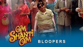 Om Shanti Om | Bloopers | Shah Rukh Khan, Deepika Padukone, Sanjay Dutt & Salman Khan