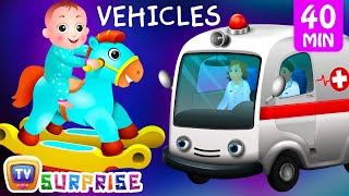 Surprise Eggs Street Vehicles For Kids | Baby, Public Transport, Utility Vehicles & More | ChuChu TV