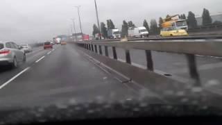 Roadworks on Motorway - M5 - Junction 2 to Junction 1