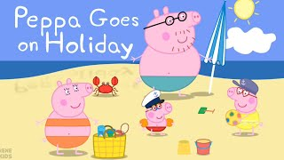 Learn Colors, Matching and Counting with Peppa Pig Holiday App for Kids
