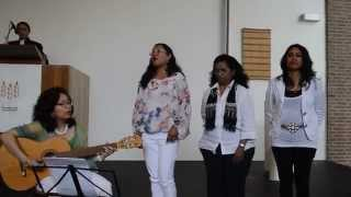 Vocal Group Blessing - I'll Worship Only At the Feet of Jesus