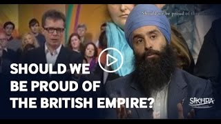 Should we be proud of the British Empire - BBC The Big Questions - Jagraj Singh