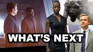 Captain America Civil War Ending Black Panther - BREAKDOWN