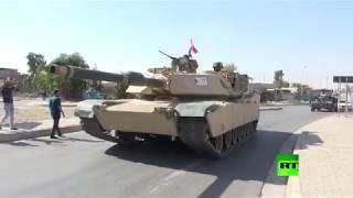 فيديو حصري يوثق دخول القوات العراقية إلى وسط كركوك