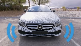 Self Driving Mercedes: Behind the Wheel!