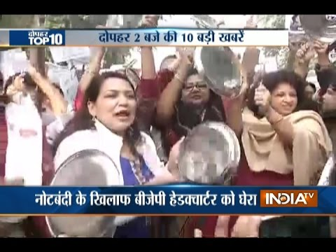 10 News in 10 Minutes 9th January 2017 India TV
