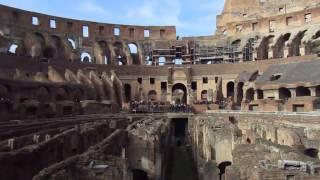 Ave Imperator, Morituri te Salutant. Colosseum from the Inside!