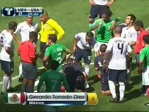 MEXICO VS USA 2 1 HIGHLIGHTS 08 12 09 ELIMINATORIA 2009 MEXICO ESTADIO AZTECA