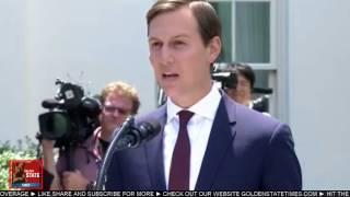 BREAKING: Jared Kushner Press briefing Following Senate Intel Meeting at White House 7/24/17