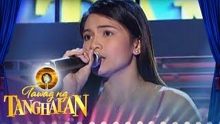 Tawag ng Tanghalan: Glaiza Micua | If I Sing You A Love Song
