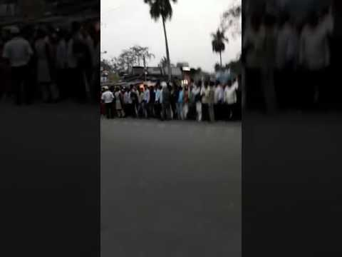 Mamata Banarjee crossing in Pradhan Nagar.. On 28 th March 2017