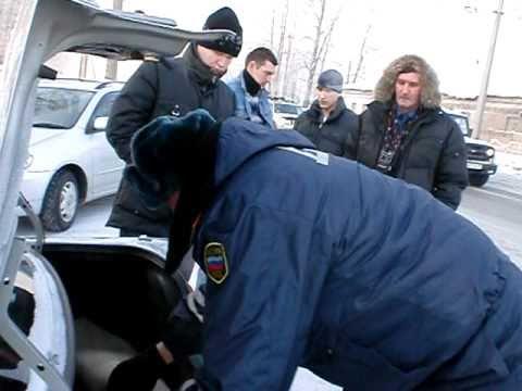 Обыск автомобиля сотрудником дпс псевдоподии вяло