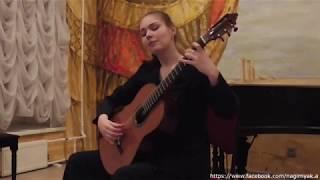 """26 -е февраля, 2018. Вера Данилина на проекте """"Гитарный Петербург"""""""