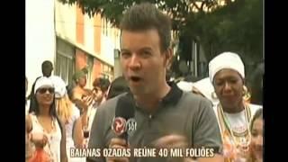 Baianas Ozadas reúne 40 mil foliões em BH