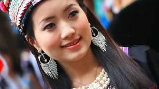 Beautiful Hmong Thai girl