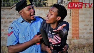 CONFUSED TV REPORTER ARRESTED | Alex Mathenge ft The Walalos