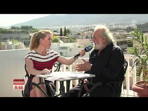 Anne Gesthuysen in Athen