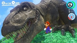 THERE'S DINOSAURS IN THIS GAME!? - Super Mario Odyssey Gameplay