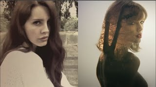 Taylor Swift 'Style' Video Mashed With Lana Del Rey's 'Summertime Sadness'