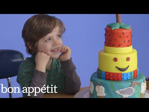 Kids Imagine Fantasy Cakes… Then Get Them For Real Most Amazingest Cakes Bon Appetit