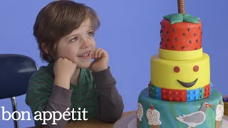 Kids Imagine Fantasy Cakes… Then Get Them For Real | Most Amazingest Cakes | Bon Appetit