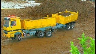 RC Compilation! Best of r/c construction machine! heavy R/C models! baustelle bagger 970 truck