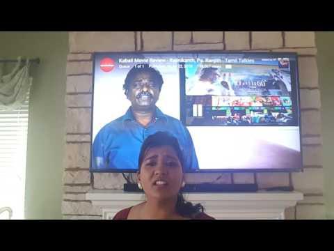 Kabali Tamil Talkies Blue Shirt - Answer this!!!!